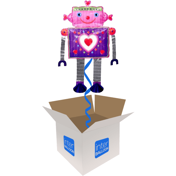 53″ Robot Love Airwalker