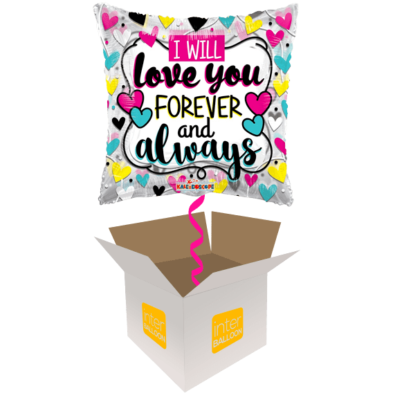 Forever And Allways Heart Pillow