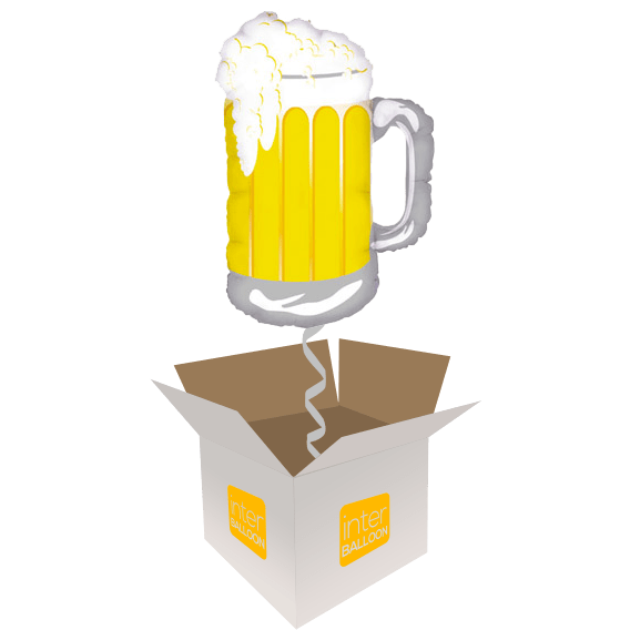 34″ Frothy Mug of Beer