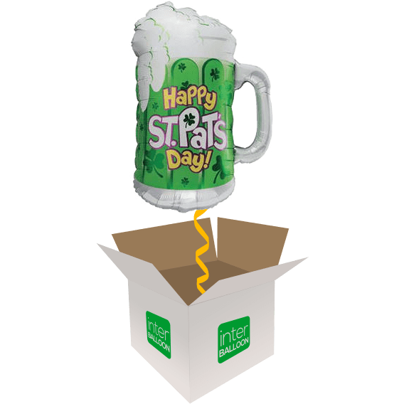 34″ Happy St Pats Day Beer Mug