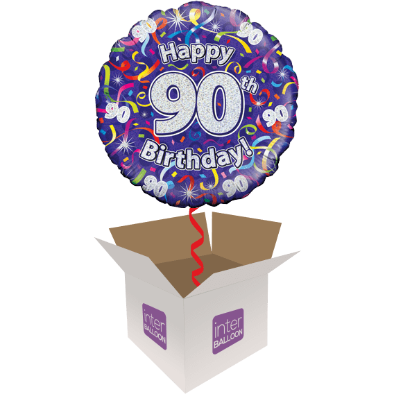 Happy 90th Birthday Streamers