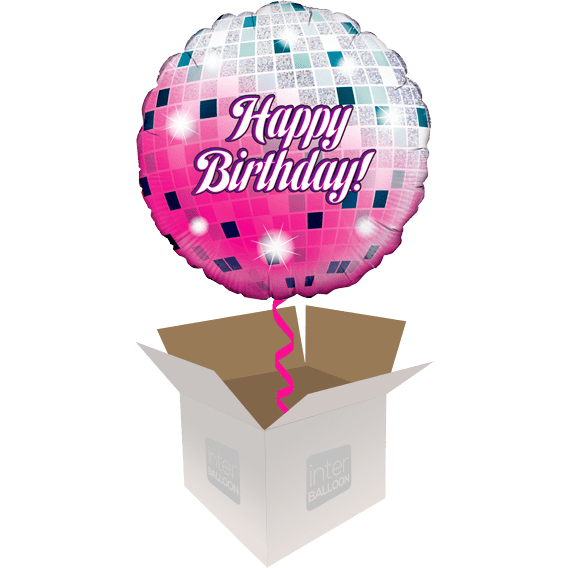 Birthday Helium Balloons Delivered In The UK By InterBALLOON