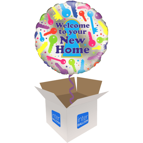 Welcome Home Helium Balloons Delivered In The Uk By Interballoon