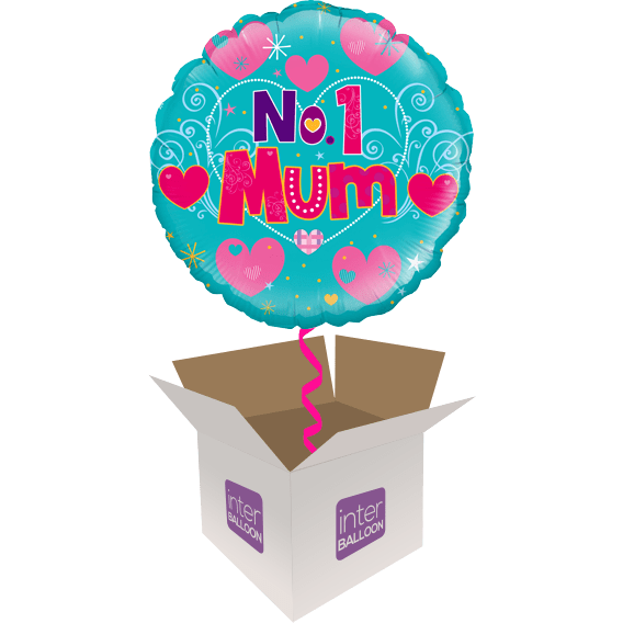 Let Your Mum Know How Much She Means To You With A Helium Filled Balloon In Box