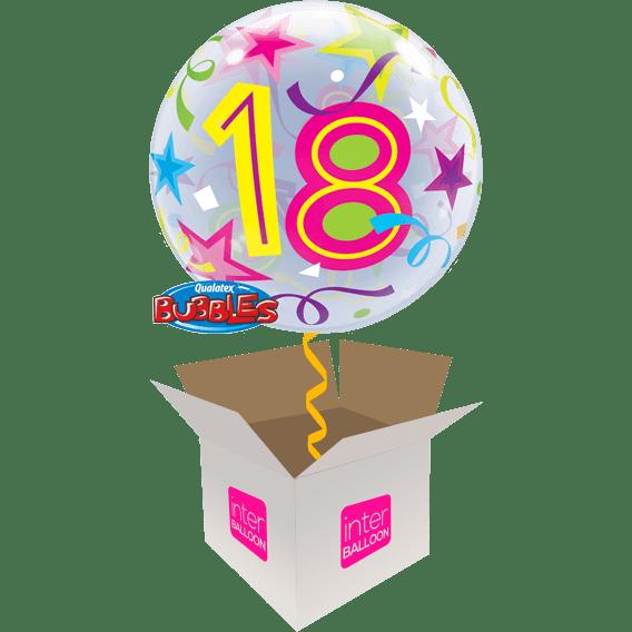 18th Birthday Balloons Say Happy 22 Brilliant Stars 18 Bubble
