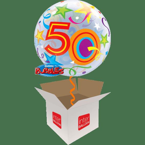 22 Brilliant Stars 50 Bubble