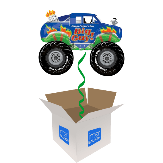 31″ Happy Father's Day Monster Truck