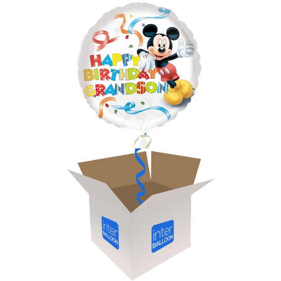 Disney Helium Balloons Delivered In The UK By InterBALLOON