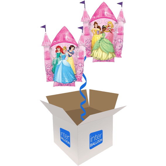 35″ Disney Princess 2-Sided Castle