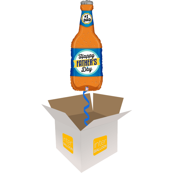 34″ Father's Day Beer Bottle