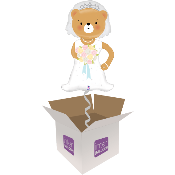 43″ Linky Bride Bear