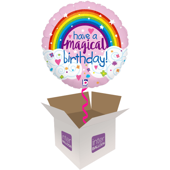 Have A Magical Glitter Rainbow Birthday