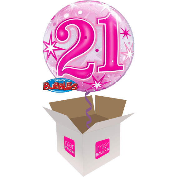 22 Pink 21 Bubble