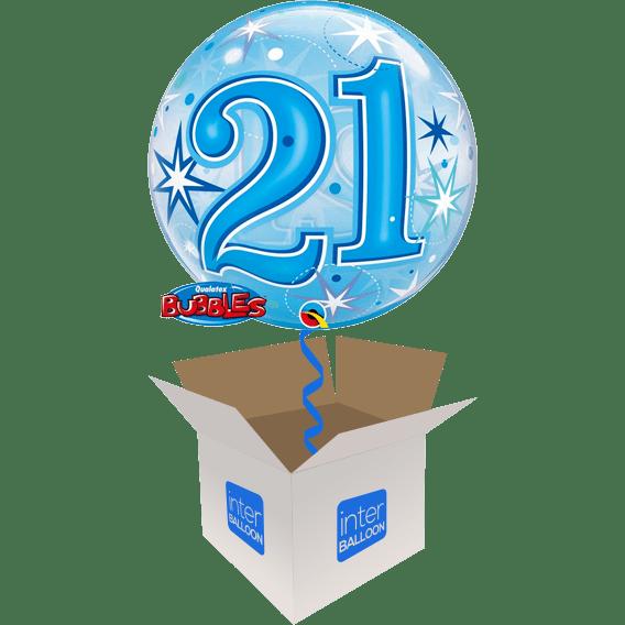 22 Blue 21 Bubble