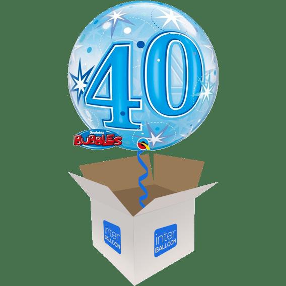 22 Blue 40 Bubble