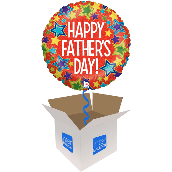 Happy Father's Day Bold Stars
