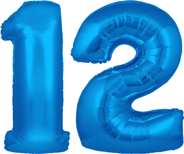 Image result for 12th birthday png