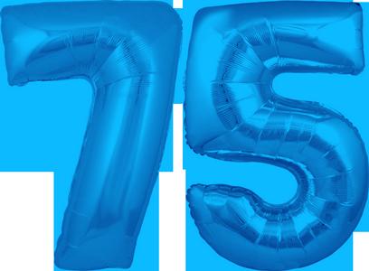 30 Blue No 75 Megaloon