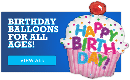 View all our birthday age balloons